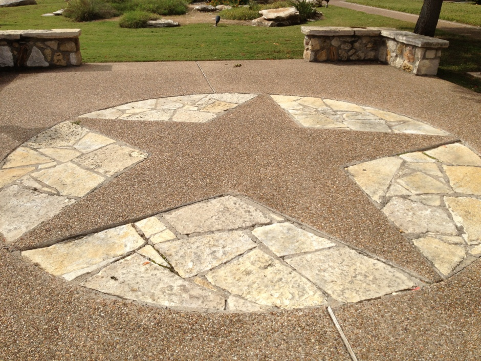 I love how small towns have so much pride. This star is found at the Somervell County Courthouse in historic downtown Glen Rose, TX.